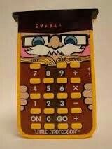 Wizard...this is an electronic math game