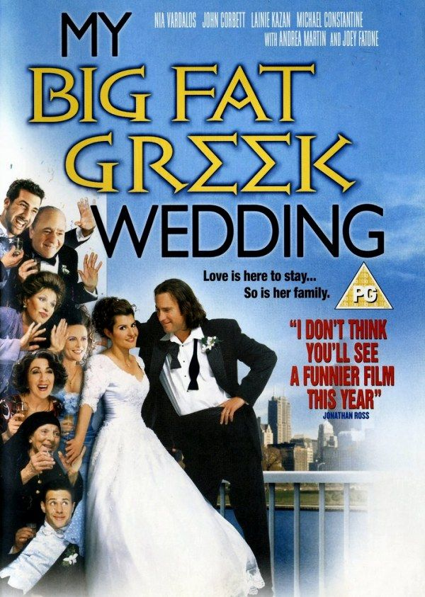 too funny Wedding movies, Funny films, Greek wedding