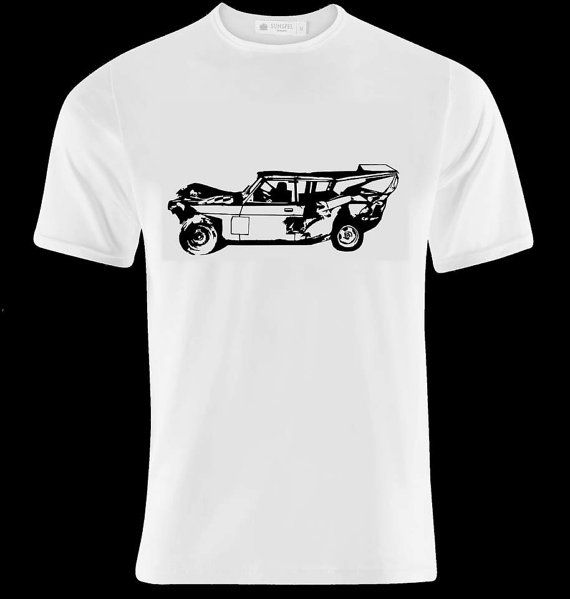 volvo 240 crashed car banger racing design tshirt - Racing T Shirt Design Ideas