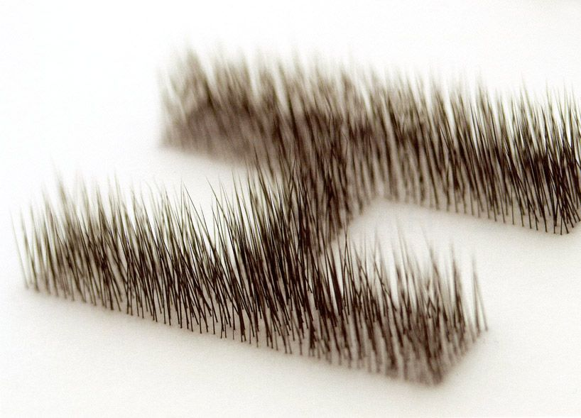 haptic logo by kenya hara animal hairs on silicone japan also christian rhoden crhoden pinterest rh