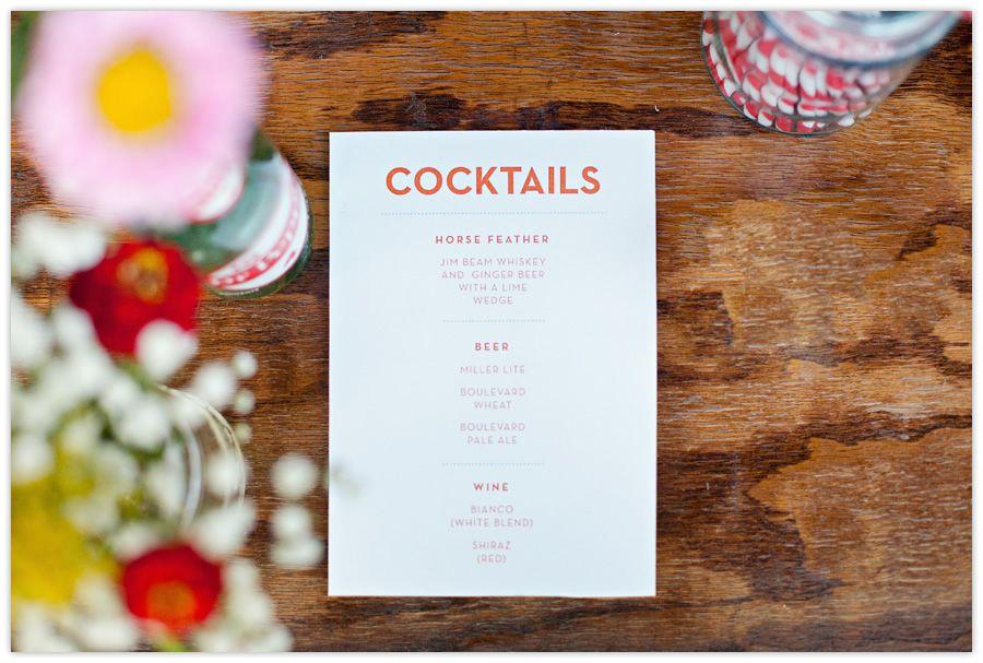 Font Menu Reception Drink Menu Bar Design Restaurant Cocktail Menu