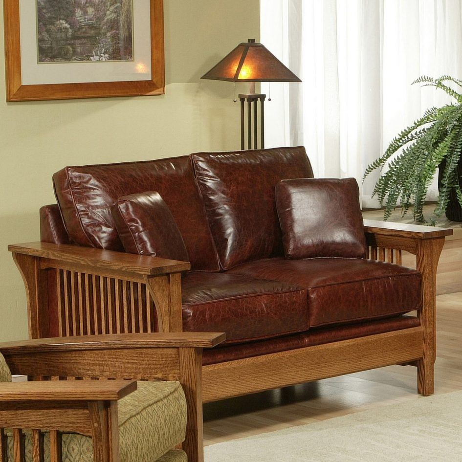 Craftsman style sofa 64 best craftsman style sofas images - Pinterest living rooms with sectionals ...