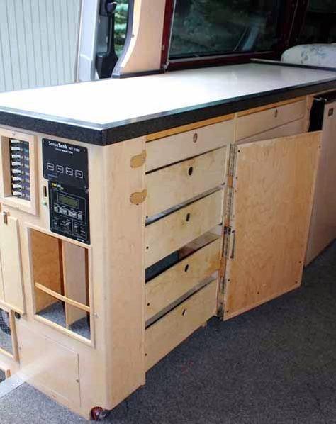 sprinter camper van pinterest wohnmobil ausbau und mobilheim. Black Bedroom Furniture Sets. Home Design Ideas