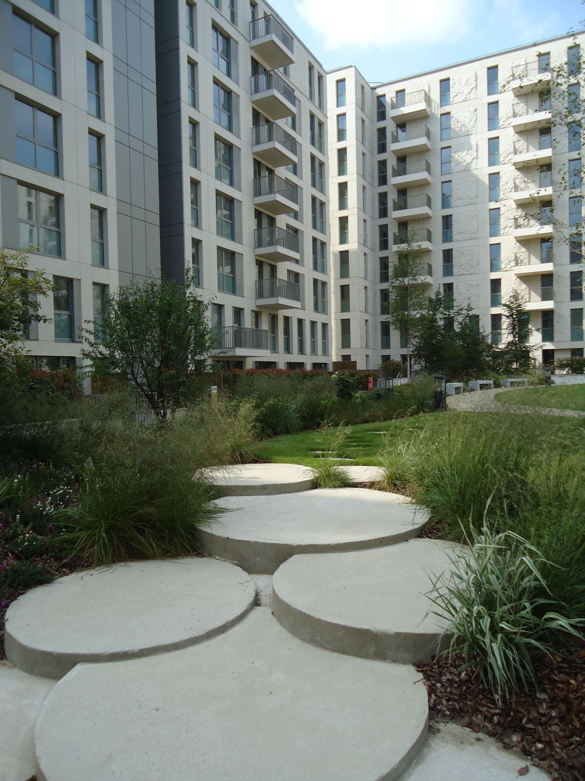 Podium Garden, Athlete's Village Soft Landscape