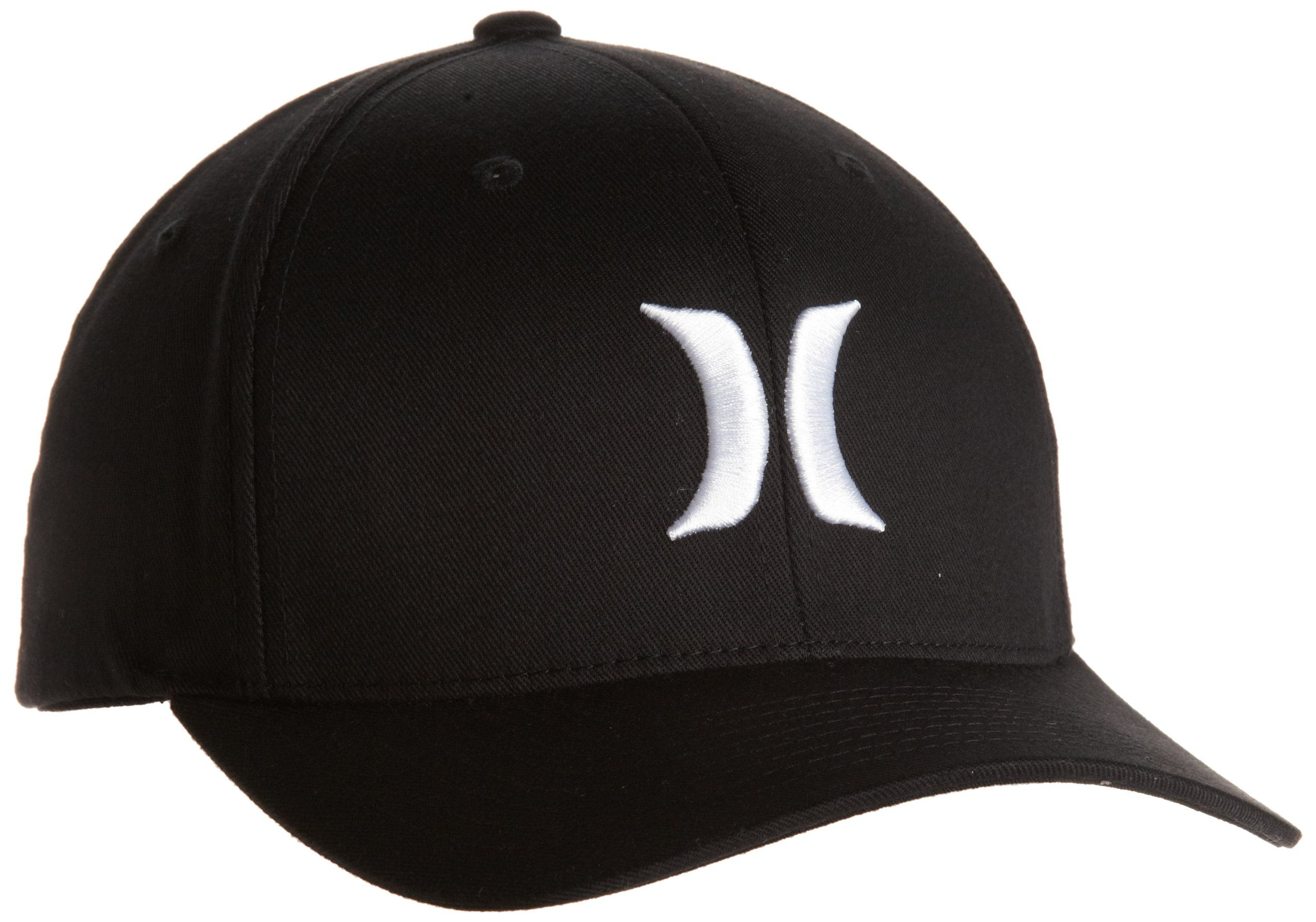 Hurley Cap One   Only Black Flexfit - Gorra de náutica 6952aab6d62