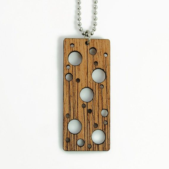 Laser cut jewelry wooden pendant jewelry pinterest laser laser cut jewelry wooden pendant mozeypictures Images