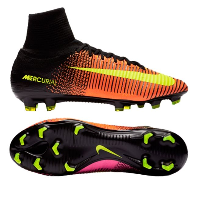 best website 51b35 c8e04 Nike Mercurial SuperFly V FG Soccer Cleats (Total Crimson ...