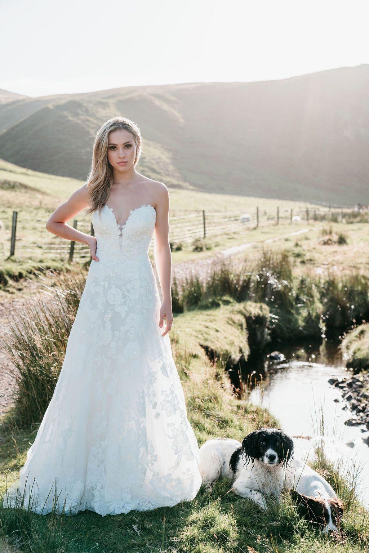 Allure Bridals 9708 Prom Usa Bridal Formal Wear Boutique Allure Bridal Bridal Dresses Beaded Wedding Gowns