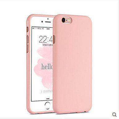 Menina Rosa Cor Solida Elegante Estojo Simples Para Iphone 6s 6 Mais Brl R 20 25 Iphone Pink Iphone Cases Iphone Phone Cases