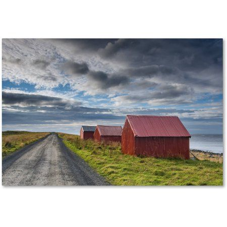 Trademark Fine Art 'Three in a Row' Canvas Art by Michael Blanchette Photography, Size: 12 x 19, Assorted