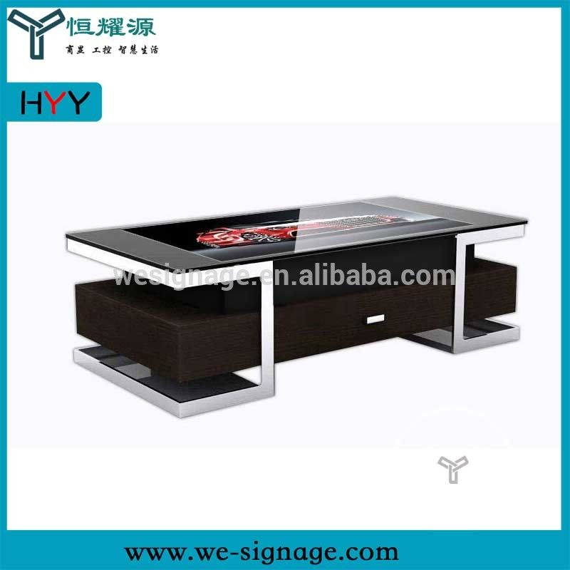Android Wifi Multi Touch Smart Interactive Touch Screen Coffee Table