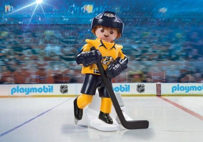 Playmobil Hockey LNH:Joueur des Prédateurs de Nashville - Castello | Jeux et Jouets