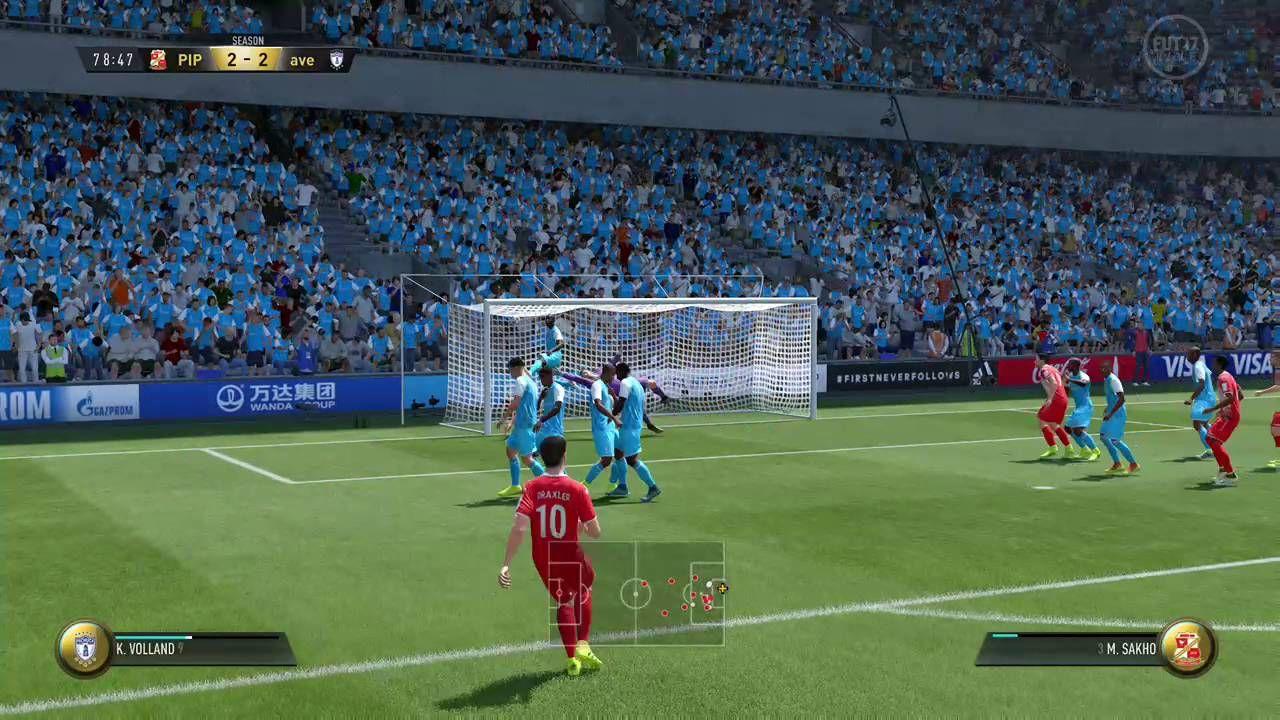 EA SPORTS™ FIFA 17 DRAXLER FREE KICK GOAL
