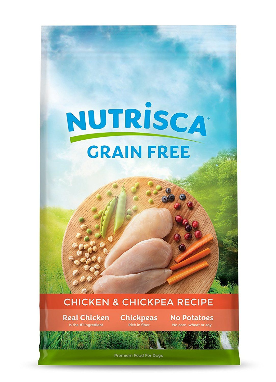 Chicken And Chickpea Dry Nutrisca Pack Of 6 Continue To The
