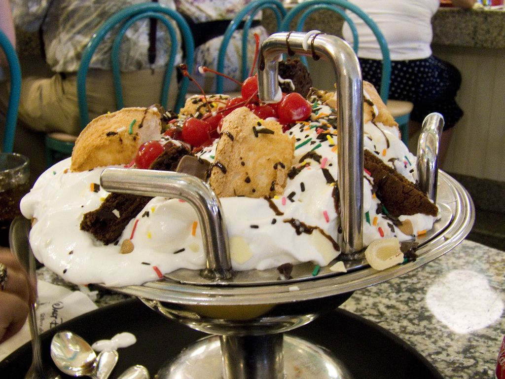 delightful Kitchen Sink Disney Boardwalk #1: Kitchen Sink Ice Cream at Beaches and Cream at Beach Club!