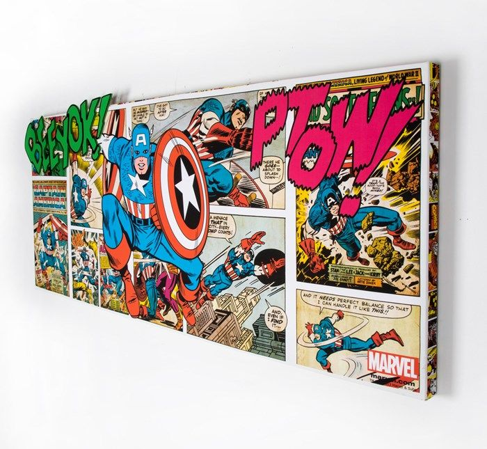 Marvel 3D Canvas Kids Decor by Graham and Brown | event comics ...