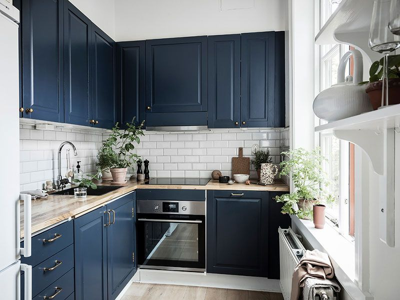 Small Scandinavian Apartment With Warm Interiors 41 Sqm S