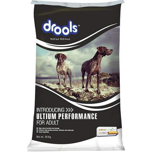 Drools Ultium Performance Adult 20 Kg Dog Food Online At Best