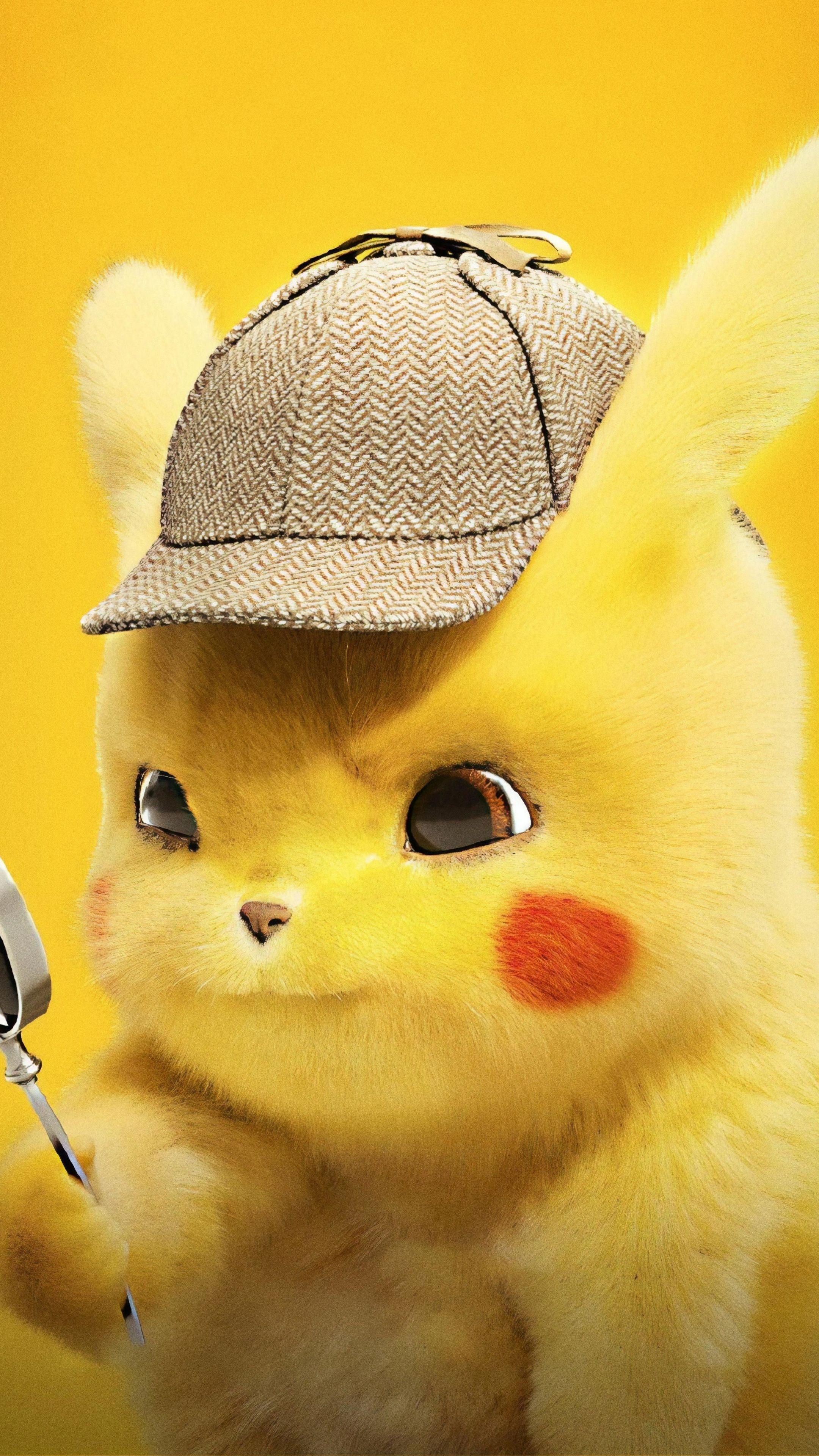 2160x3840 Pikachu Cute Pokemon Detective Pikachu 2019 Wallpaper Cute Pikachu Pikachu Art Pikachu Wallpaper Iphone
