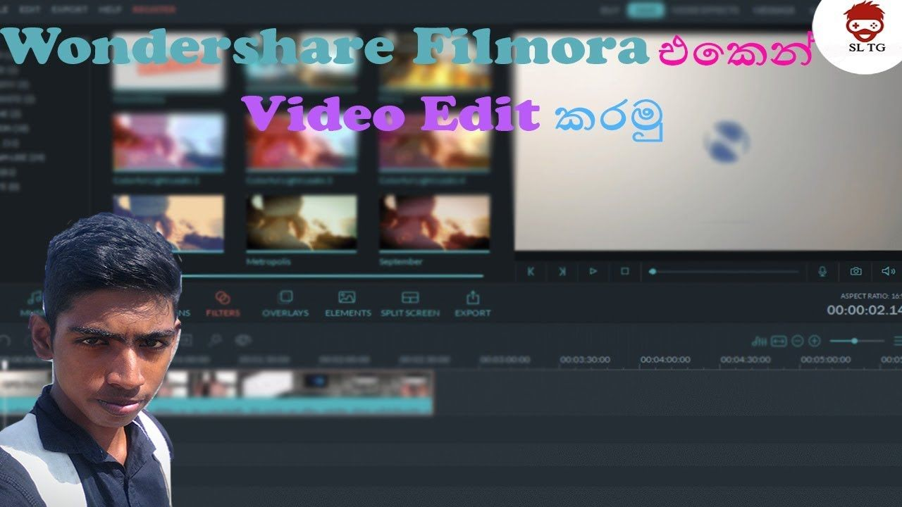 Wondershare Filmora Video Editor Sinhala Video Editor Video Editing Video