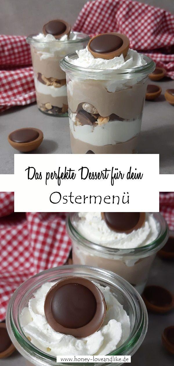 Toffifee Dessert mit nur 4 Zutaten