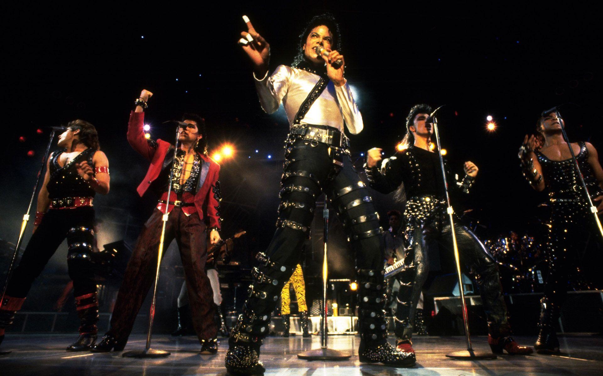 MJ on the stage Michael jackson bad, Fondo de pantalla