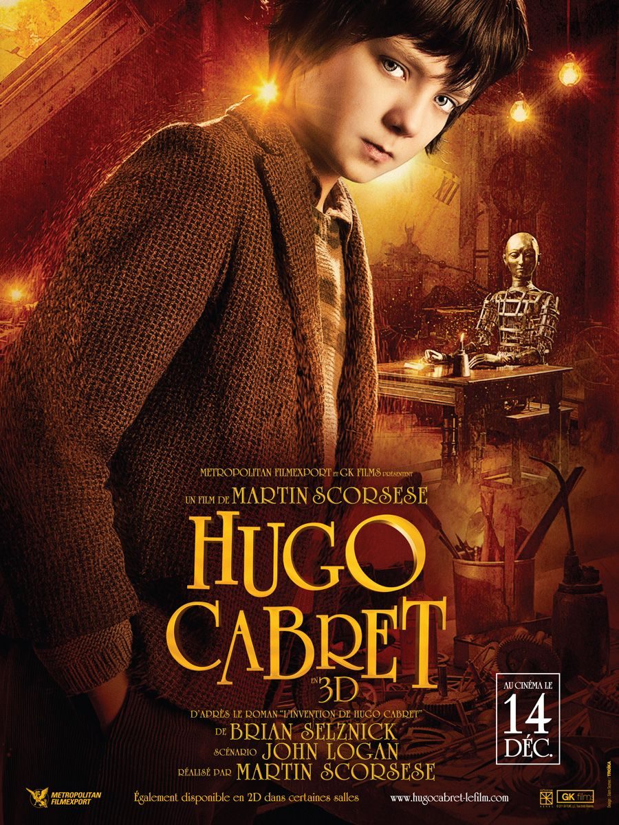 Hugo By Martin Scorcese And This Is His Masterpiece Martin Scorsese