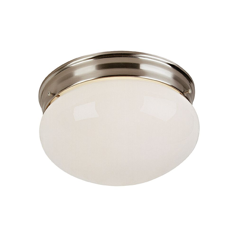 Brushed Steel 9 Wide Ceiling Light Fixture 45787 Lamps Plus