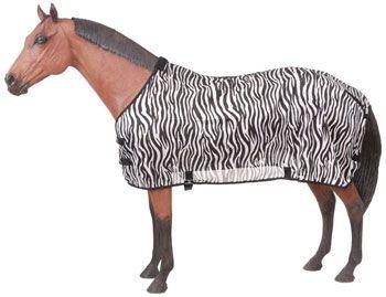 Saddles Tack Horse Supplies - ChickSaddlery.com Tough-1 Zebra Print Mesh  Fly Sheet