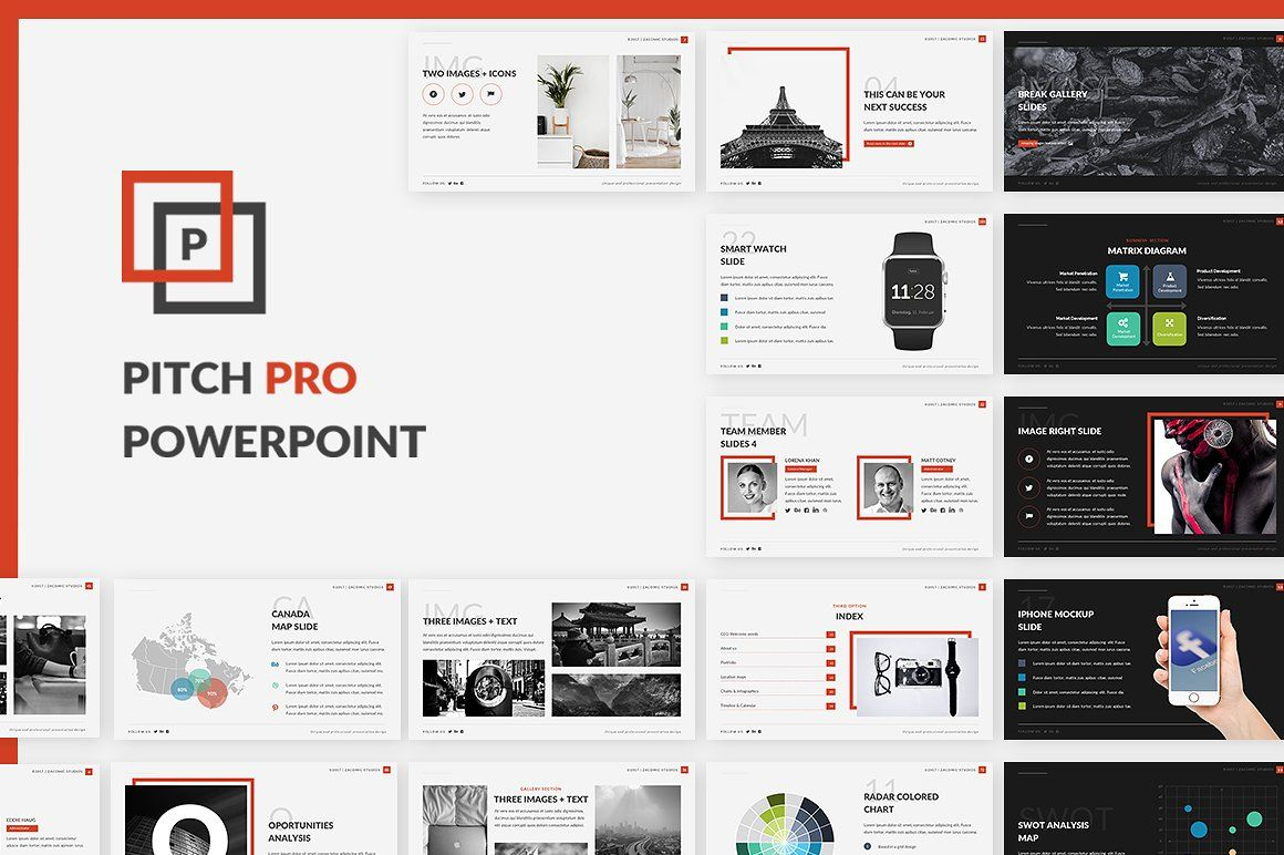 Pitch Pro Powerpoint Template Powerpoint templates