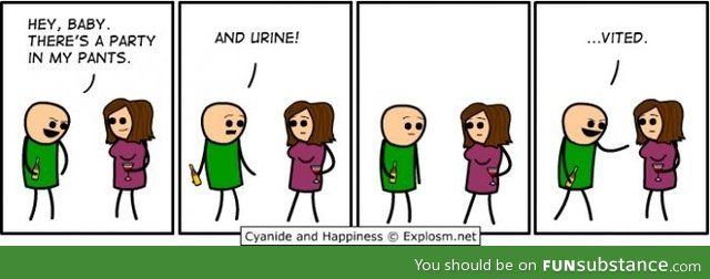 Clever Pick Up Line Funsubstance Cyanide And Happiness Clever Pick Up Lines Cyanide And Happiness Comics