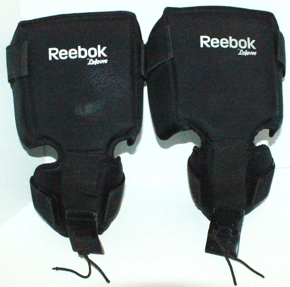 Details About New Dr Ice Hockey Goalie Senior Knee Thigh Protector