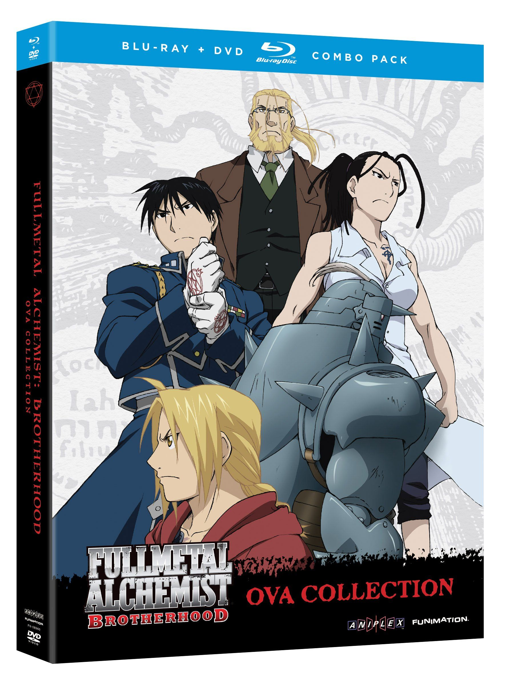 Fullmetal Alchemist Brotherhood Ova Collection USA Bluray