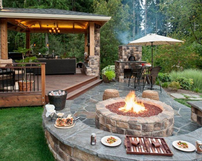 Gartengestaltung Ideen Außenküche Feuerstelle ähnliche Tolle Projekte Und  Ideen Wie Im Bild Vorgestellt Findest Du Auch In Unserem Magazin .