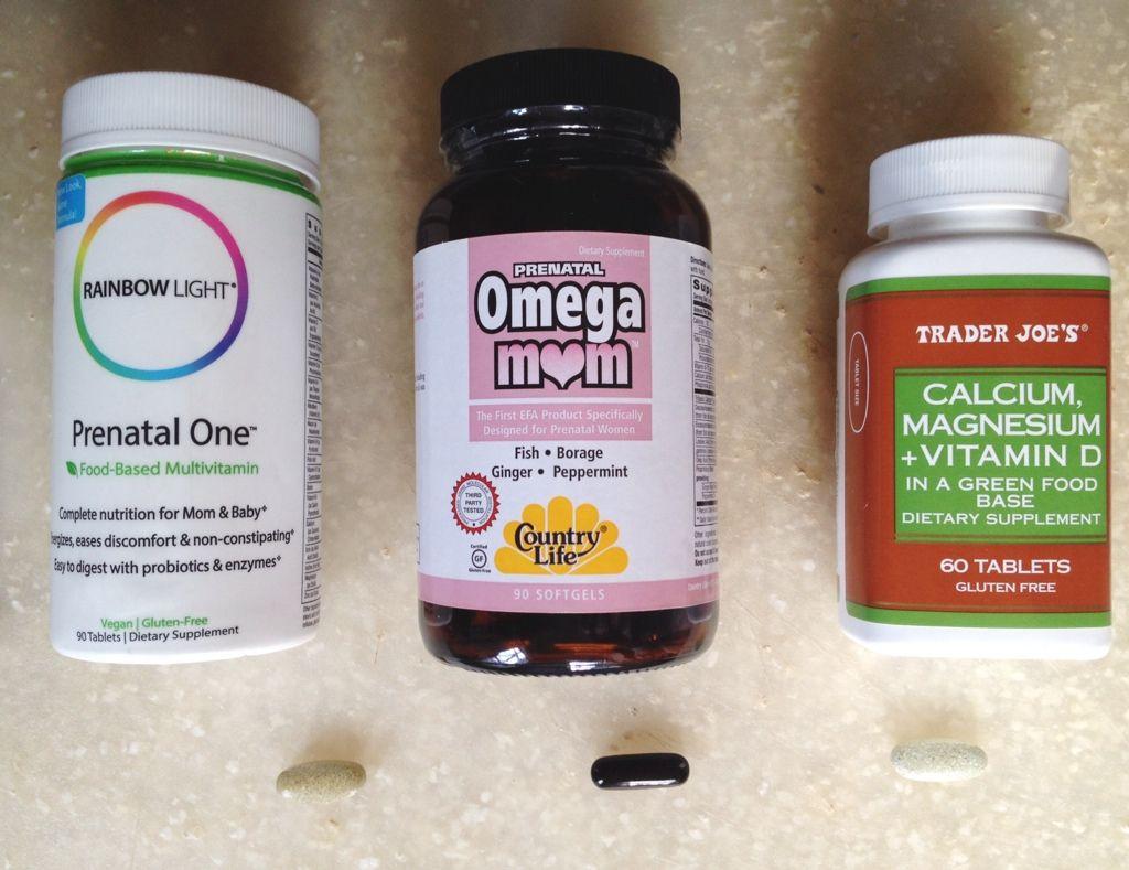 Choosing A Prenatal Vitamin