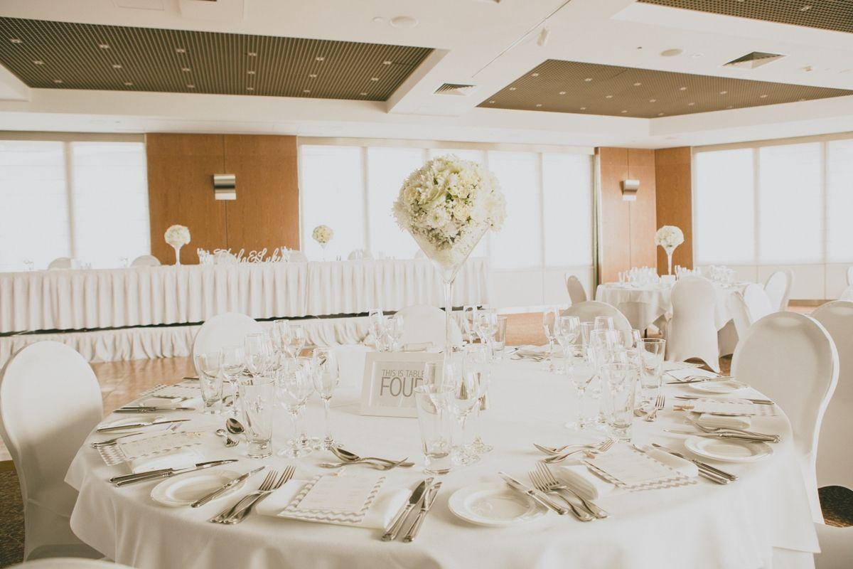 Elegant Wedding Reception Table Settings