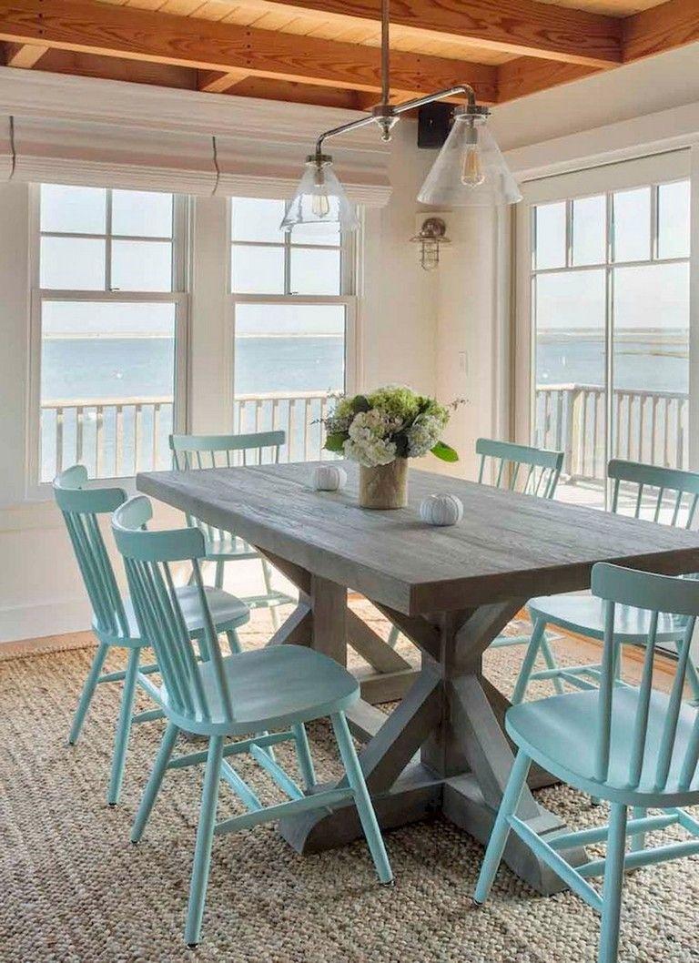 56+ Rural Farmhouse Dining Room Furniture Decor Ideas