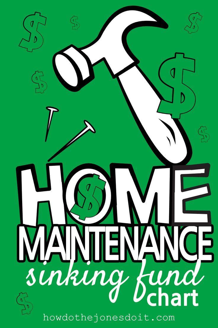 Photo of Home Maintenance Sinking Fund Chart