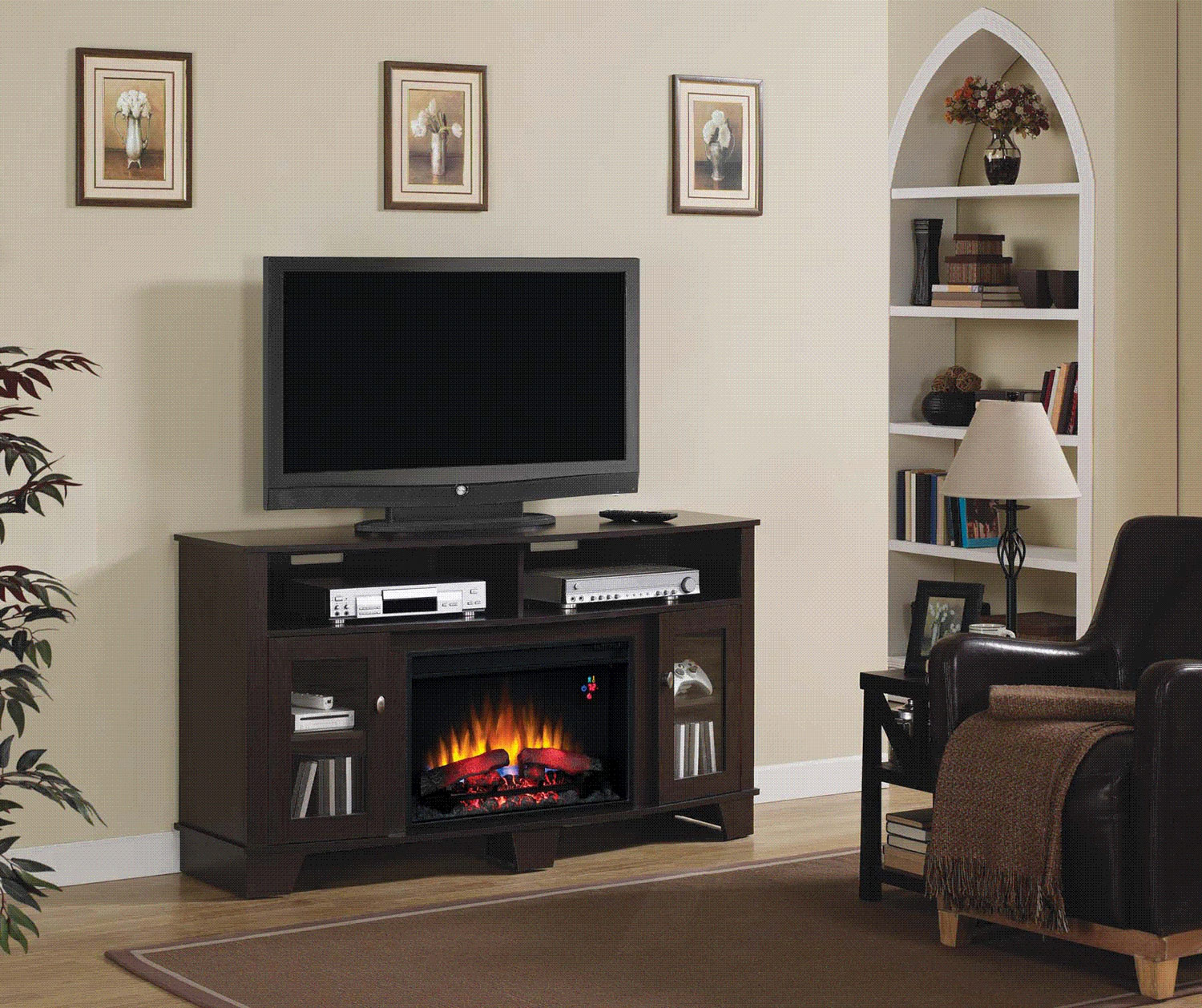 classicflame la salle electric fireplace twin star home