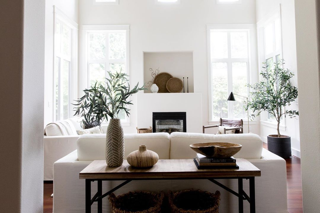 All Of The Elements Pop Against The Crisp White Walls By