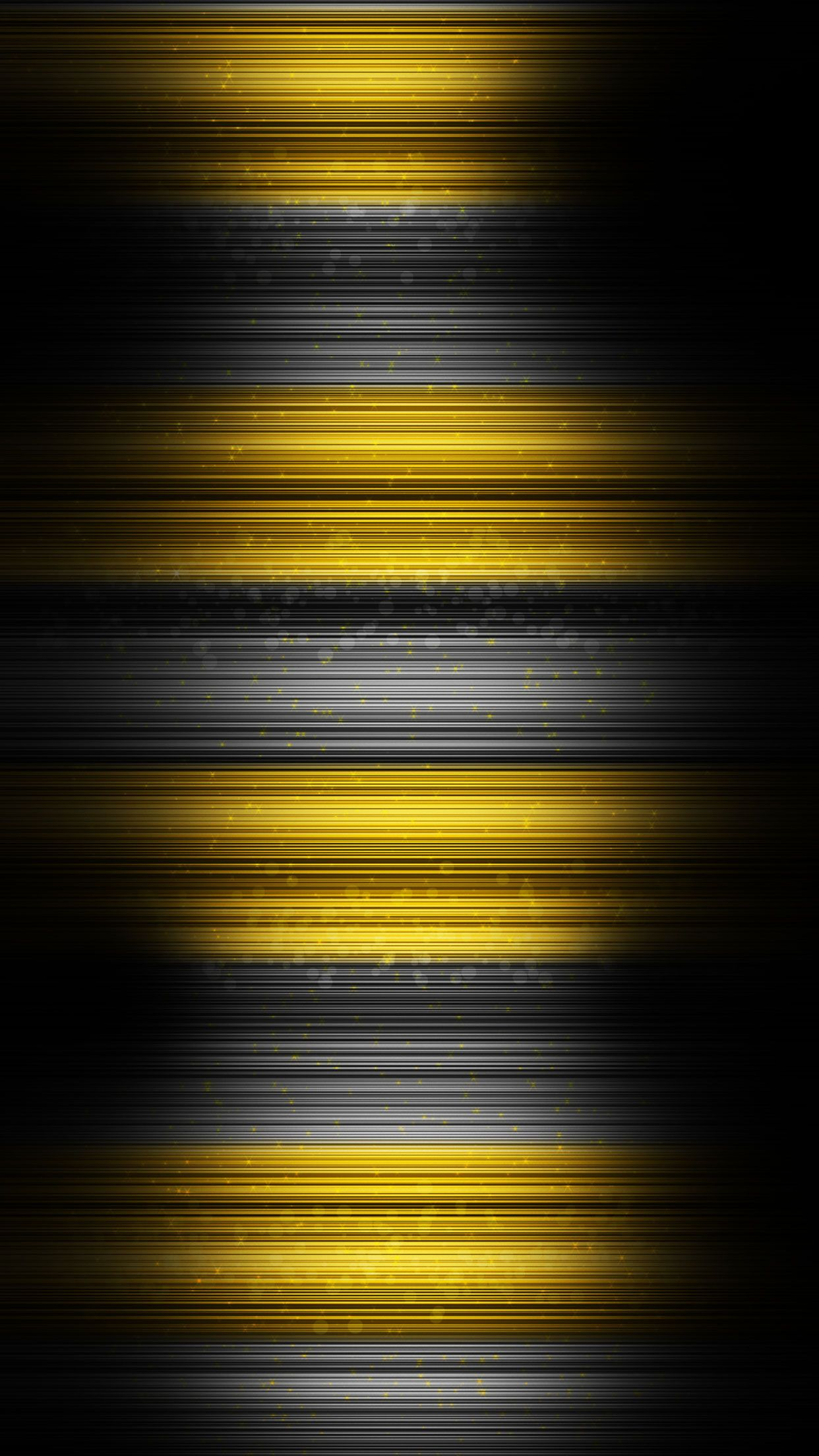 Yellow and black abstract wallpaper for Iphone and