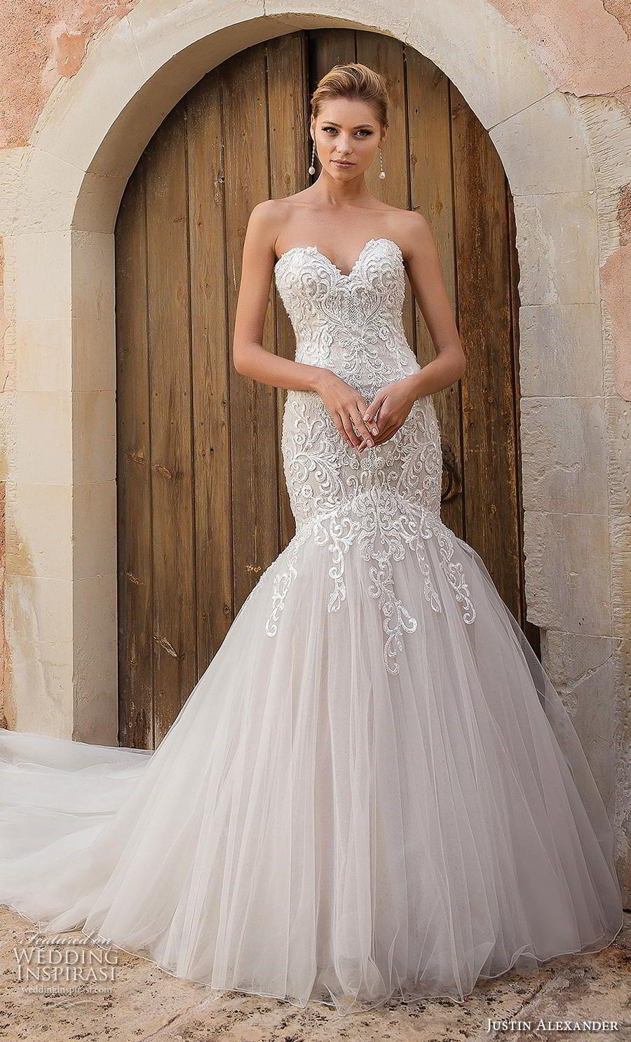 Justin Alexander Spring 2019 Wedding Dresses Wedding Inspirasi Justin Alexander Wedding Dress Justin Alexander Bridal Backless Mermaid Wedding Dresses [ 1485 x 900 Pixel ]