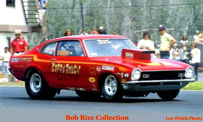 Vintage Drag Racing Pro Stock Gapp Roush With Images