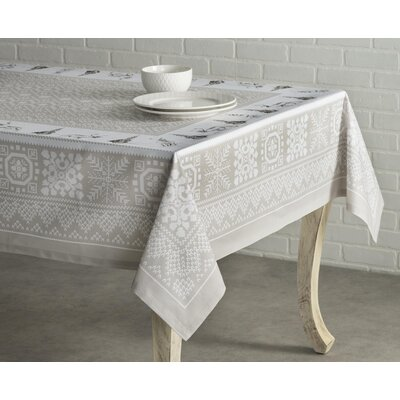 Maison D Hermine Christmas Cozy 100 Cotton Tablecloth Christmas Table Cloth Winter Table Bedding Sets