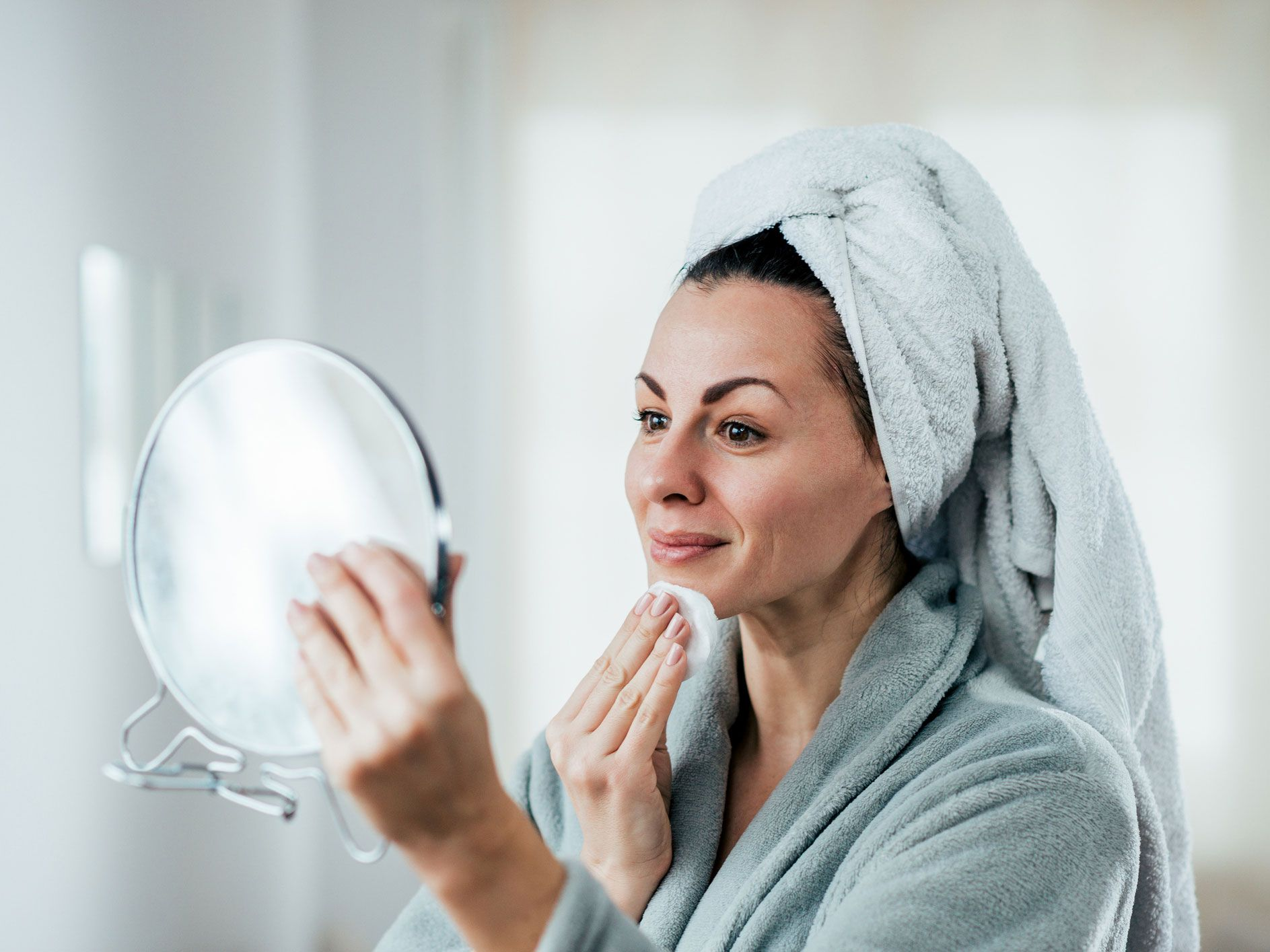 Try double cleansing for smaller pores and radiant skin