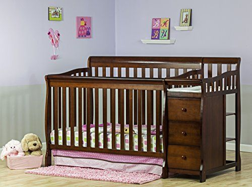 Dream On Me 5 In 1 Brody Convertible Crib With Changer Espresso Http Www Babystoreshop Com Dream On Me 5 In 1 Brody Conve Convertible Crib Cribs Baby Cribs