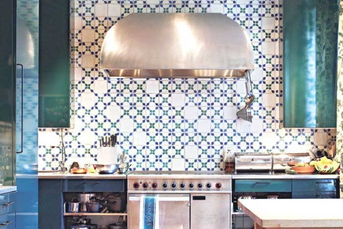 Decorative Tiles For Kitchen Divine Renovations Moroccan Style Kitchens #light #blues #pattern