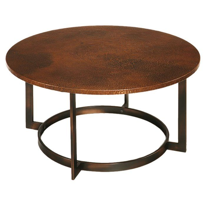 Dombrowski Coffee Table Copper Coffee Table Coffee Table