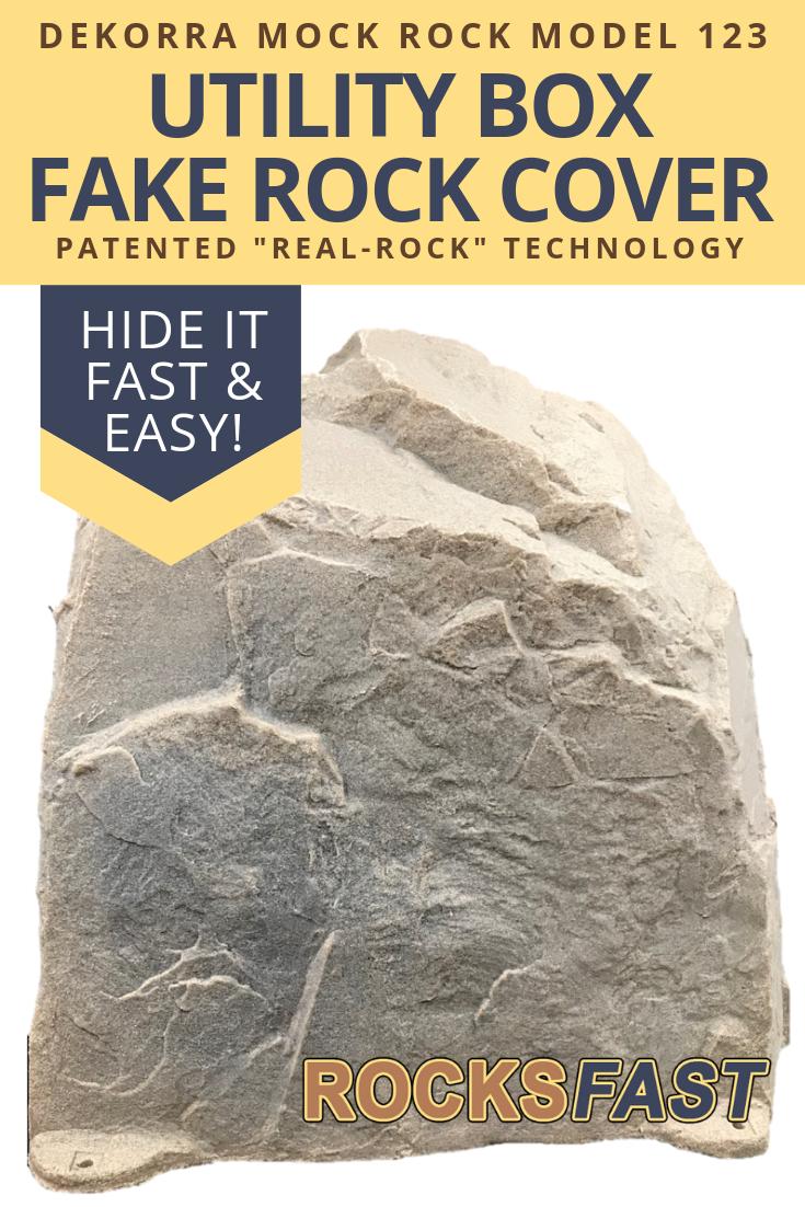 Dekorra Mock Rock Model 123 Fake Rock Cover Fake Rock Fake Rock Covers Rock Cover