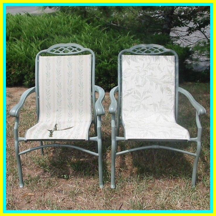 outdoor chair fabric replacement